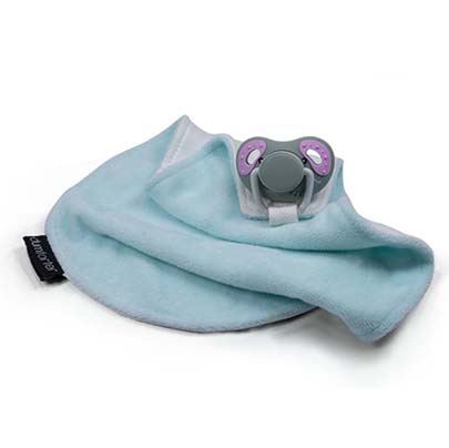 Dumforter 3 in 1 soother, teether, comforter in the wild collection ellie elephant