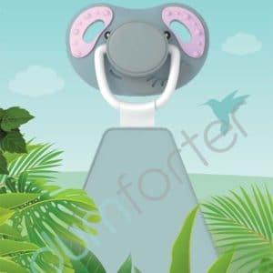 Dumforter Ellie Elephant print