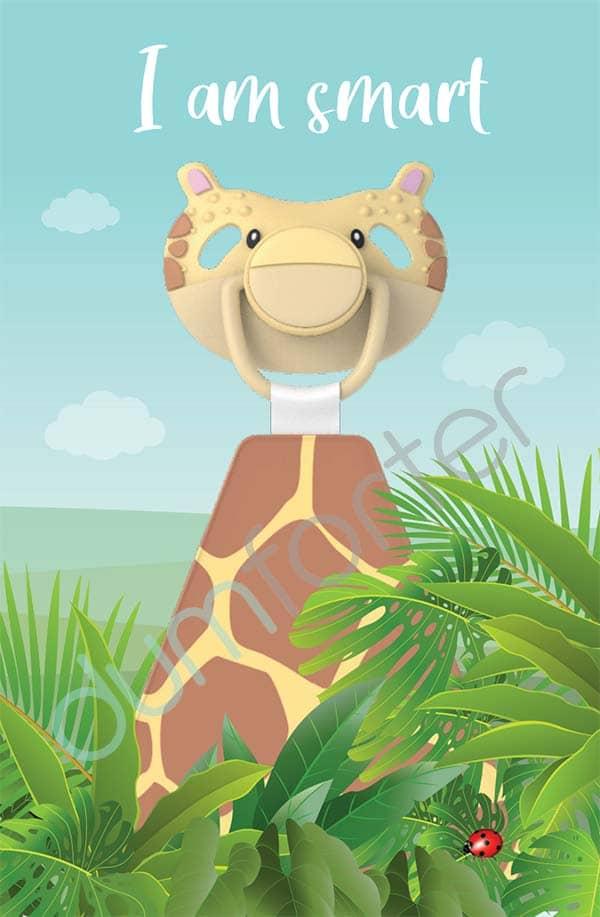 Dumforter Gerry Giraffe print