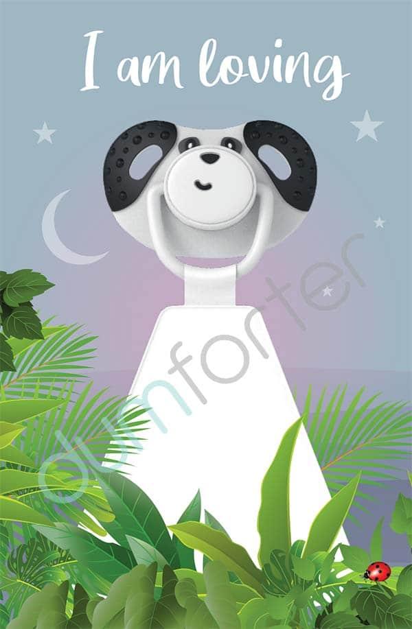Dumforter Pepper Panda print