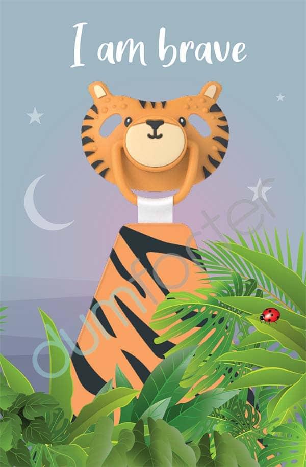 Dumforter Terry Tiger print